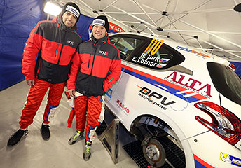 Rok Turk in rally Monte-Carlo