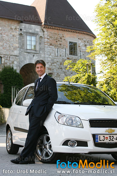 Neville Woodcock - chief executive officer of General Motors for Opel and Chevrolet in Slovenia