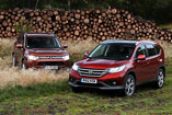Honda CR-V in Mitsubishi Outlander
